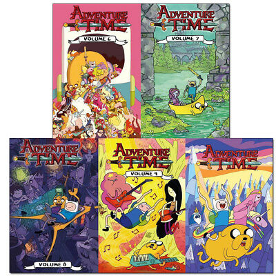 Adventure Time(Vol 6 - 10) Collection 5 Books Set Pack by Titan Comics NEW [PB]
