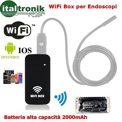 Wifi Box Per Connessione Endoscopio Smartphone Android 4.4 Iphone Ios 8.0