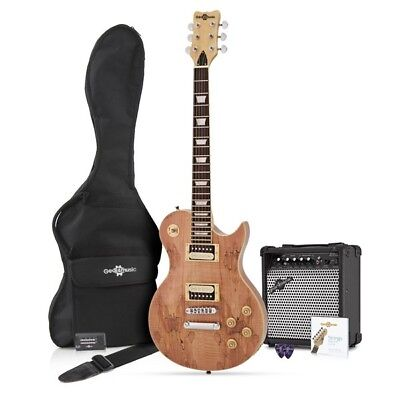 New Jersey Electric Guitar + Complete Pack Spalted Maple
