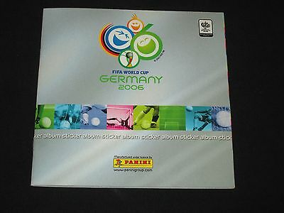 album complet complete PANINI GERMANY 2006 MINI STICKERS WORLD CUP COUPE MONDE
