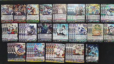 Cardfight Vanguard Great Nature Complete 50 Card Deck - BigBelly/Arusha Build