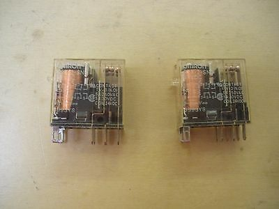 Omron Relay G2B-2-SND , lot of 2