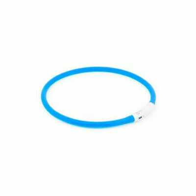 Ancol Pet Products Usb Rechargeable Night Time Safety Halo Blue 70cm