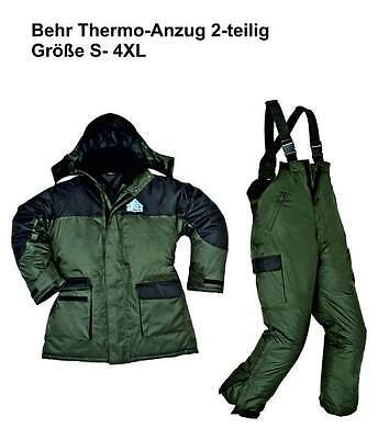 ICEBEHR Thermal suit 2-piece Cold suit of Behr Size S 4XL Winter suit