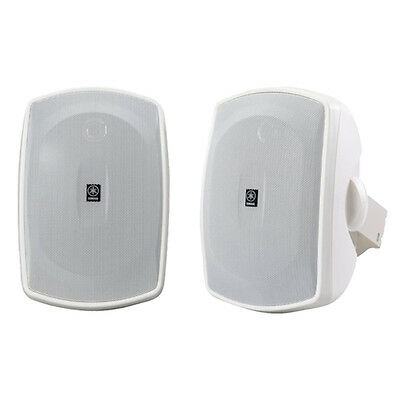 SAVE!!! Yamaha NSAW190 White In / Outdoor Speakers with Mounting Brackets