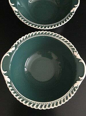 """Harker Pottery """"Corinthian"""" Vintage Lugged Cereal Bowl"""