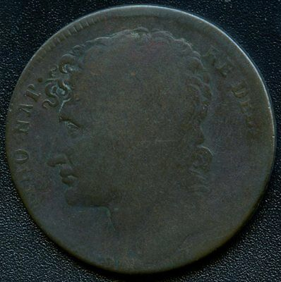 Italy 1810 Naples (French Occupation) 3 Grana Coin
