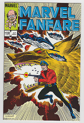 MARVEL FANFARE 17 1982 Vol. 1 first series NM-MINT Very High Grade check SCAN !!