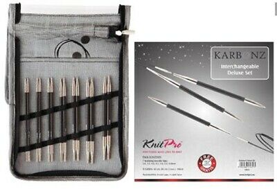 AUD KnitPro Karbonz tips Set Deluxe 41613 knitting-needles