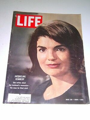 LIFE MAGAZINE MAY 29, 1964 JACQUELINE KENNEDY - Collectible