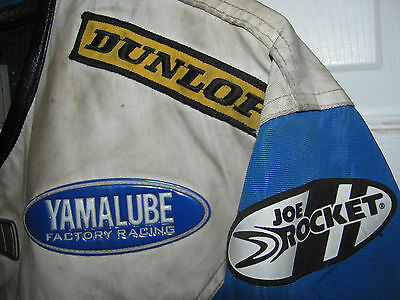 VINTAGE Yamaha Joe Rocket Motorcycle Racing Jacket MX Scorpion XL