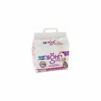 Pettex Sepicat Clumping Ultra Light Cat Litter Odour Control 10litre