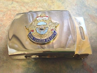 Canadian AIR CADETS Belt Buckle (Web) Solid Brass