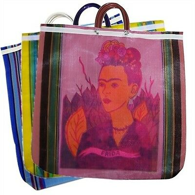 #940 12 Lot Tote Bag Frida Kahlo Reusable Grocery Market Mexico Pack Wholesale