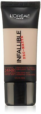 L'Oreal Paris Infallible Pro-Matte 24Hr Foundation ~ Choose From 12 Shades