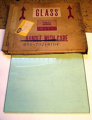 1955-56 Ford 4 Door + Wagon Front Door Glass Tinted - Lot of 2 - NOS in Boxes -