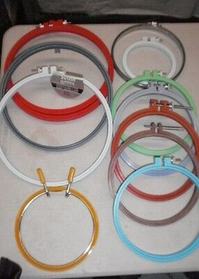 Embroidery Hoop Plastic Easy Clip Spring Needlepoint