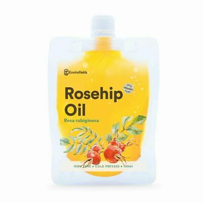 ROSEHIP OIL - ORGANIC 100ml -100% PURE & NATURALLY UNSCENTED - FREE SHIPPING