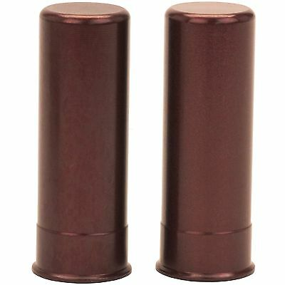 New! A-Zoom Shotgun Metal Snap Caps 12 Gauge, 2 Pack, Solid Aluminum 12211