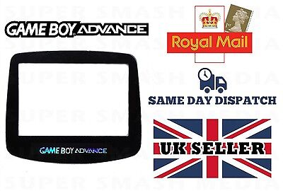 New Game Boy Advance GBA Replacement GLASS Screen - Gameboy * High Quality *