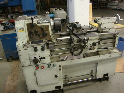 Cadillac Model 1422 Engine Lathe with Collet Closer, Chucks, KDK tooling