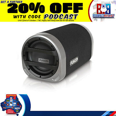 "New Fusion En-At1102 10"" 800W Active Bass Tube Built-In Amp Subwoofer Car Audio"