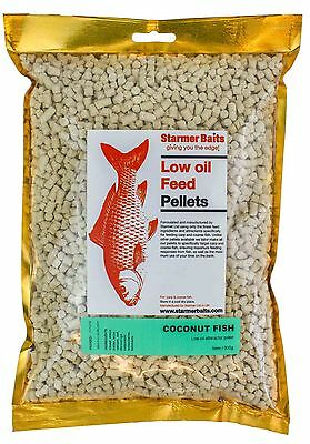 Coconut fish pellets for carp and coarse fishing 5mm