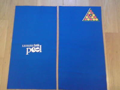 Pool Table Racking Cloth (LEISURE LINK - BLUE)
