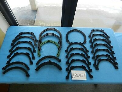 Smith & Nephew Surgical Aluminum External Fixator Rings & Arch Rails Lot Of 25