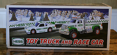 Hess Toy Truck & Race Car 2011 - New In Box
