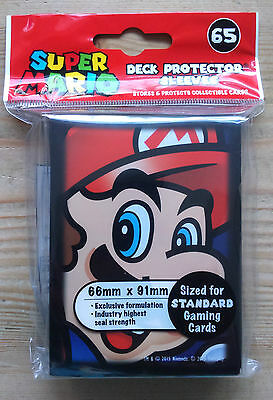 Ultrapro - Standard 65 Mario - Super Mario - Card Game Sleeves