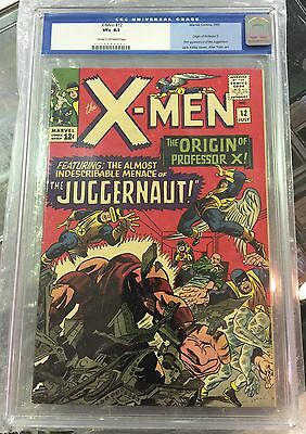 X-MEN #12 CGC 8.5 cream/off-white pages FIRST APPEARANCE JUGGERNAUT
