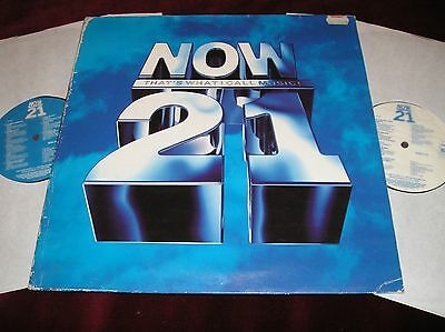 Various Artists - Now Music 21 - Rare Original Uk Double Lp In Gatefold Sleeve