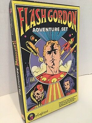 Vintage Flash Gordon Colorforms Adventure Set 1980 King Features- UNUSED In Box!