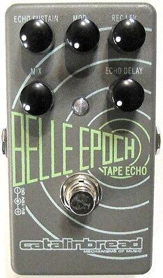 Used Catalinbread Belle Epoch Tape Echo Delay Guitar Effects Pedal!