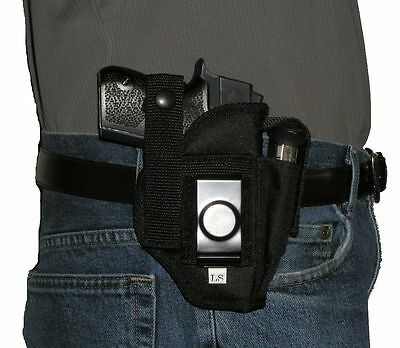 USA MFG PISTOL Holster With Extra Mag Taurus G2C Belt Hip OSW 9mm 9