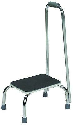 Foot Stool with Handle, DMI, Non-Slip Textured Matting Safe Household Bar Height