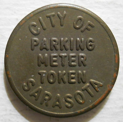 City of Sarasota (Florida) parking token - FL3840A