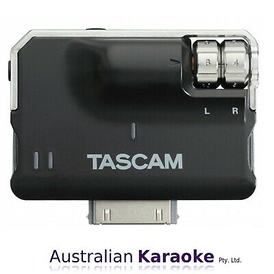 NEW Tascam iXJ2 30-Pin Mic/Line Amplifier For iOS Devices
