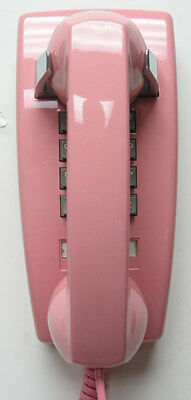 Western Electric 2554 Wall Telephone in Pink