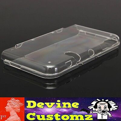 Devine Customz Clear hard protective case cover skin Nintendo 3DS XL