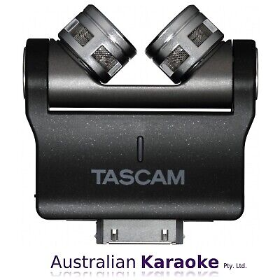 NEW Tascam iM2X 30-Pin Stereo X/Y Condenser Microphones For iOS Devices