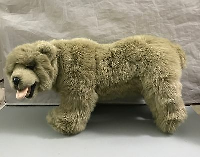 Russ Berrie Yomiko Bear 7908 Brown Grizzly Authentic Look Plush