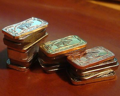 18 Different 1 Gram 999 Bullion Bars - The Most Complete Collection Available