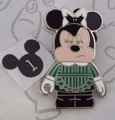 Minnie Mouse Haunted Mansion Maid Vinylmation Mickey Friends Mystery Disney Pin
