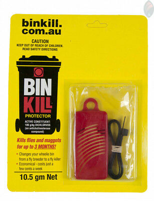 BIN KILL 16g Fly Protector Kills Flies and Maggots - Bug Pest Garden Insecticide