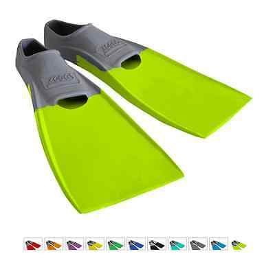 ZOGGS Long Blade Swim Fin Snorkel Swimming Training Adult ALL SIZE colour coded