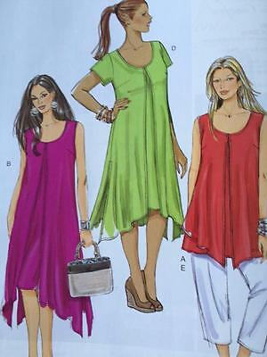 Butterick Sewing Pattern 5655 Misses Ladies Top Dress Pants Size 18w-24w New