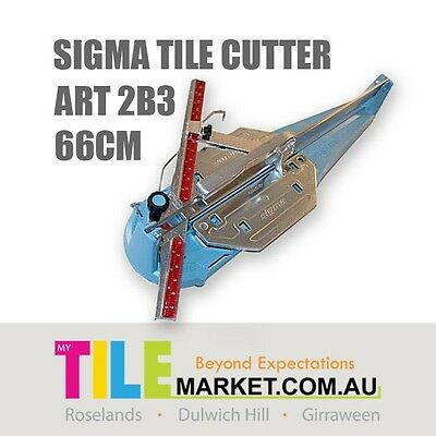 [Brand New Model] SIGMA TILE CUTTER ART 2B3 - 66cm