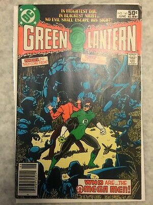 Green Lantern 141, 142, And 143. 1st Omega Men.  FN To VF+ copies